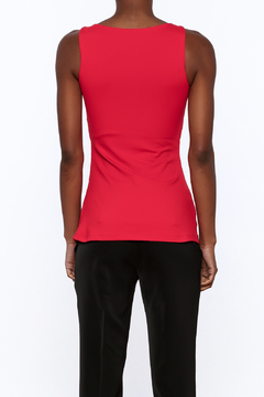 Susana Monaco Red Sleeveless Top - Alternate List Image