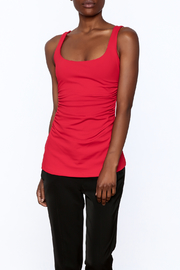 Susana Monaco Red Sleeveless Top - Product Mini Image