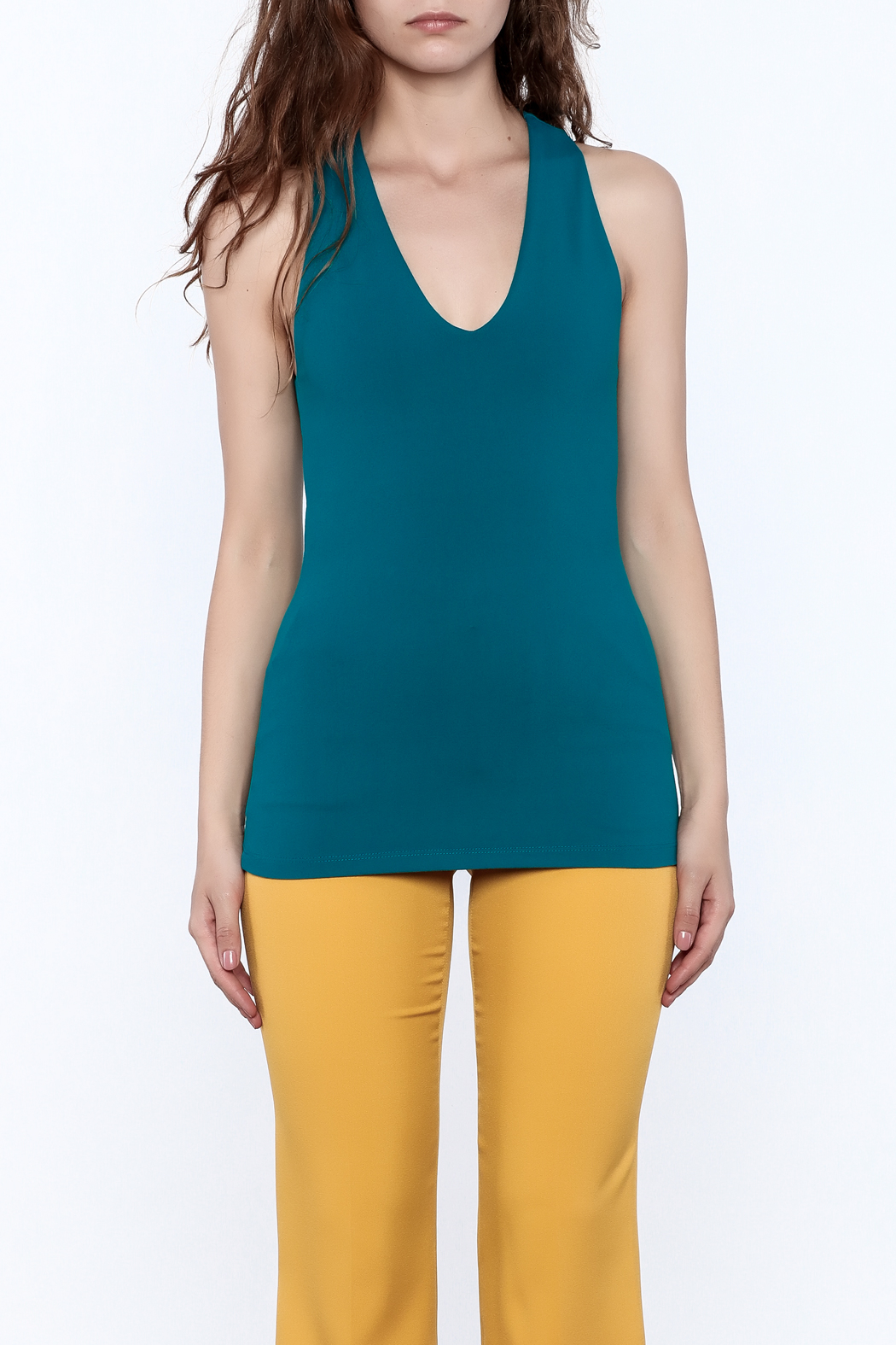 Susana Monaco Urban Tank Top - Side Cropped Image