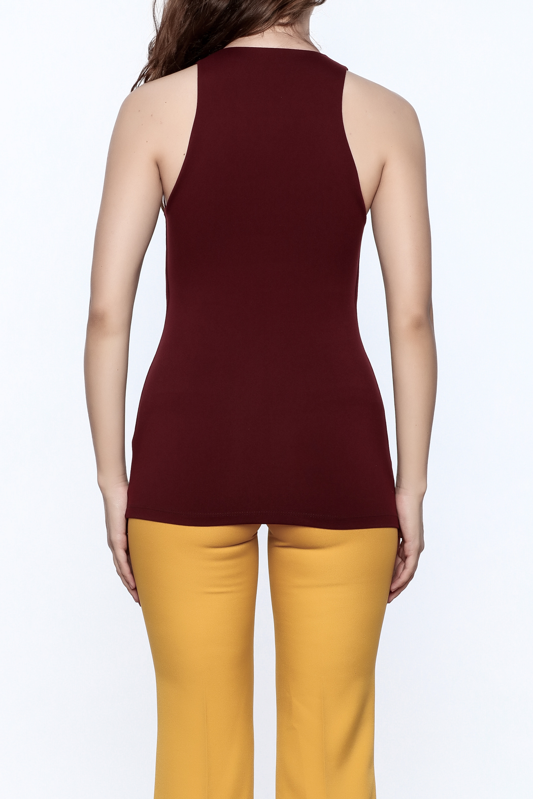 Susana Monaco Urban Tank Top - Back Cropped Image