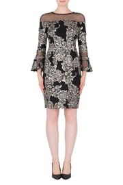 Joseph Ribkoff Susanne Filigree Dress - Product Mini Image