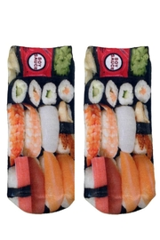 Living Royal Sushi Ankle Socks - Product Mini Image