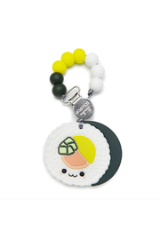 loulou LOLLIPOP Sushi Roll Silicone Teether Holder Set - Product Mini Image