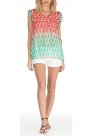 Tolani Susie Ombre Top - Product Mini Image