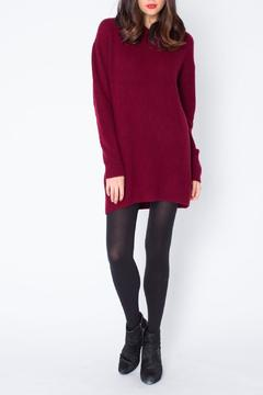 suss Tunic Cashmere Hoodie - Product List Image