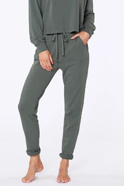Bobi Sustainable Terry Cuffed Pant - Product Mini Image