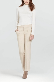 Ecru Sutton Straight Trouser - Product Mini Image