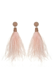 Suzanna Dai Feather Bead Earrings - Front cropped