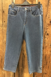 FDJ French Dressing Suzanne Denim Capri - Front cropped