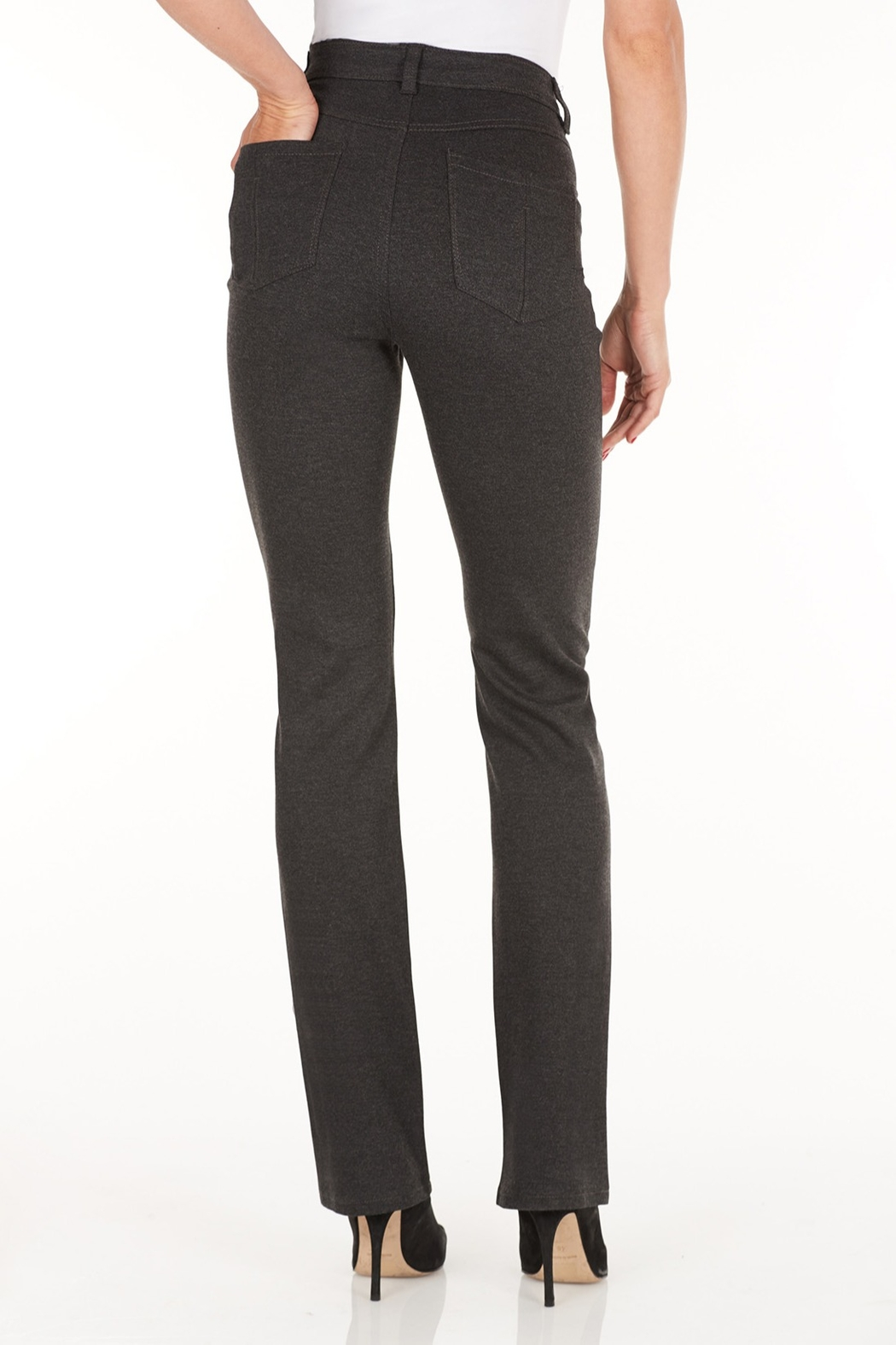 FDJ French Dressing Jeans Suzanne Straight Leg - Side Cropped Image