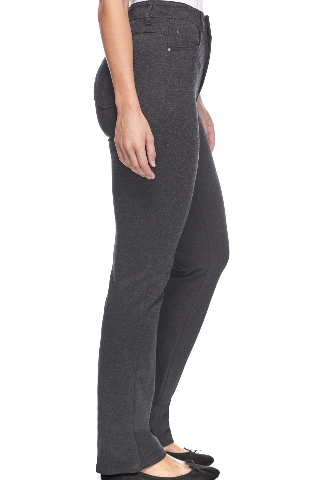FDJ French Dressing Jeans Suzanne Straight Leg - Back Cropped Image
