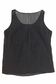 Suzanne Aux Yeux Noirs Silk Top - Front full body