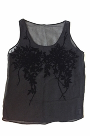 Suzanne Aux Yeux Noirs Silk Top - Front cropped