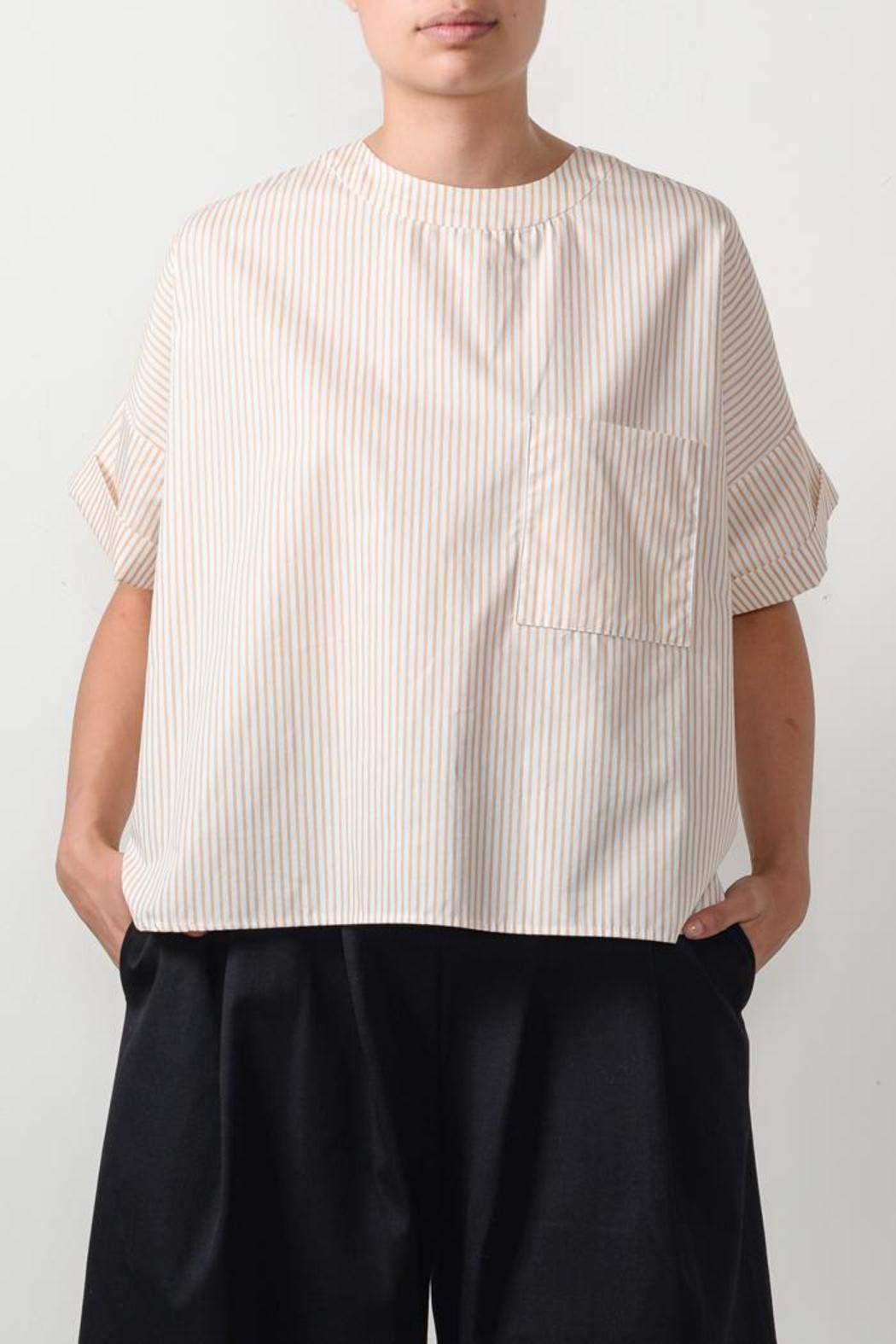 Suzanne Rae Cropped Pocket T