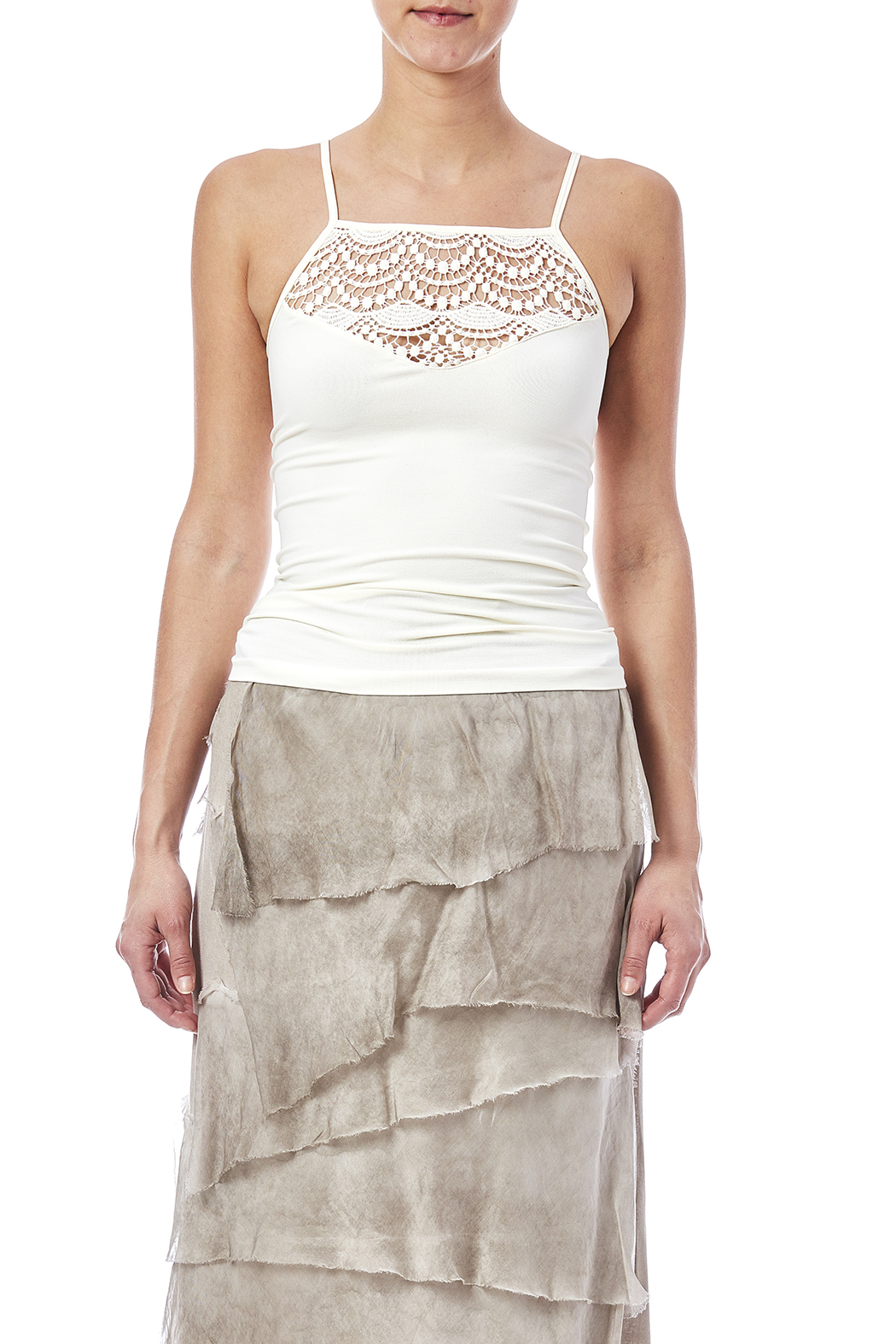 Suzette Crochet Cami - Side Cropped Image
