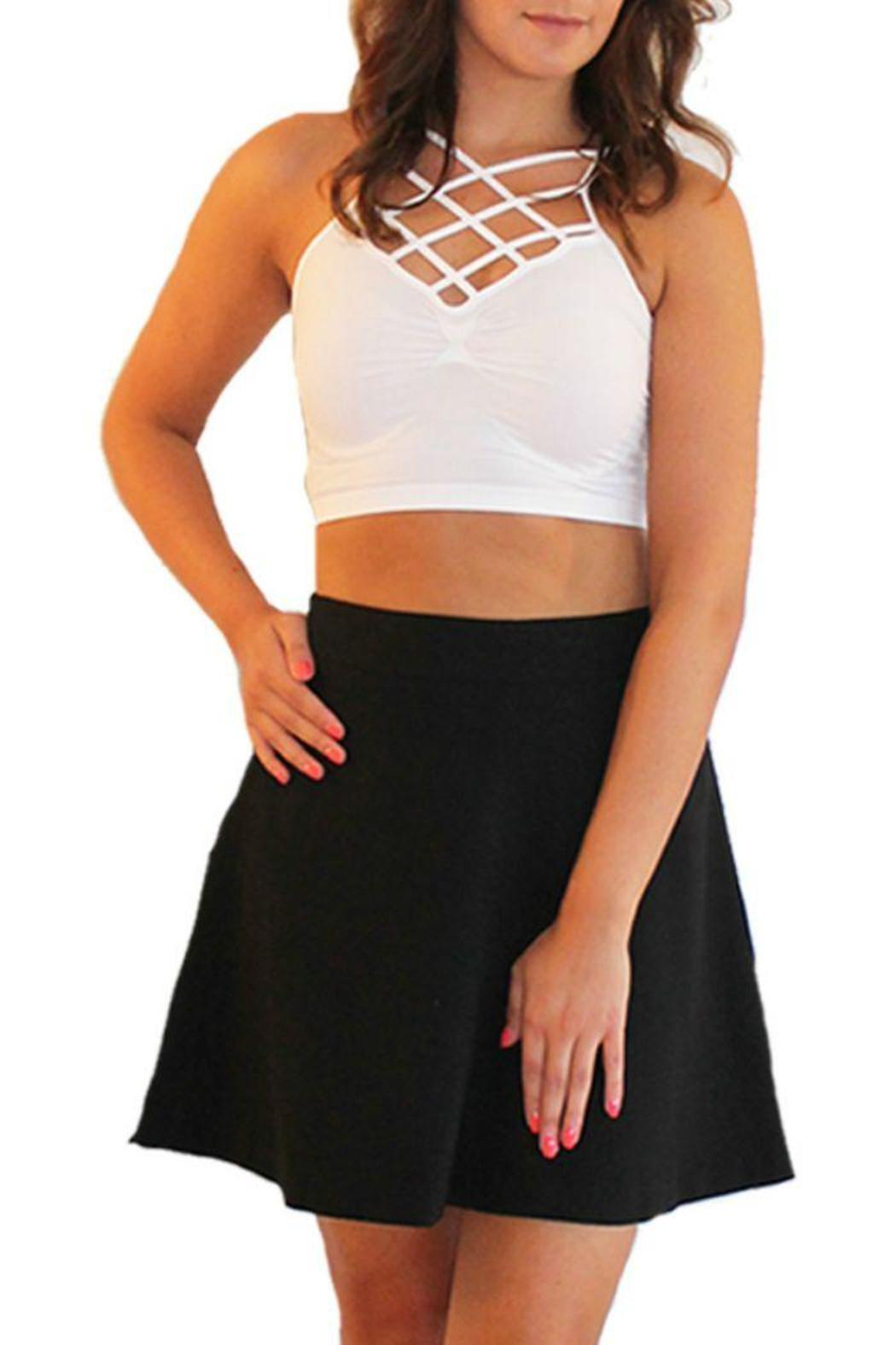a1bf83c592d9e4 Suzette Spider Cage Crop from Palm Beach by Frankie James Boutique ...