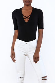 Suzette V-Front Bodysuit - Product Mini Image
