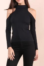 Suzette Collection Ribbed Cold Shoulder - Product Mini Image