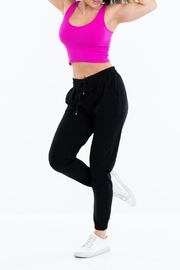 Suzette Collection Ultra-Soft Black Joggers - Product Mini Image