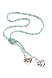 Suzie Blue Turquoise Bead Necklace - Product Mini Image