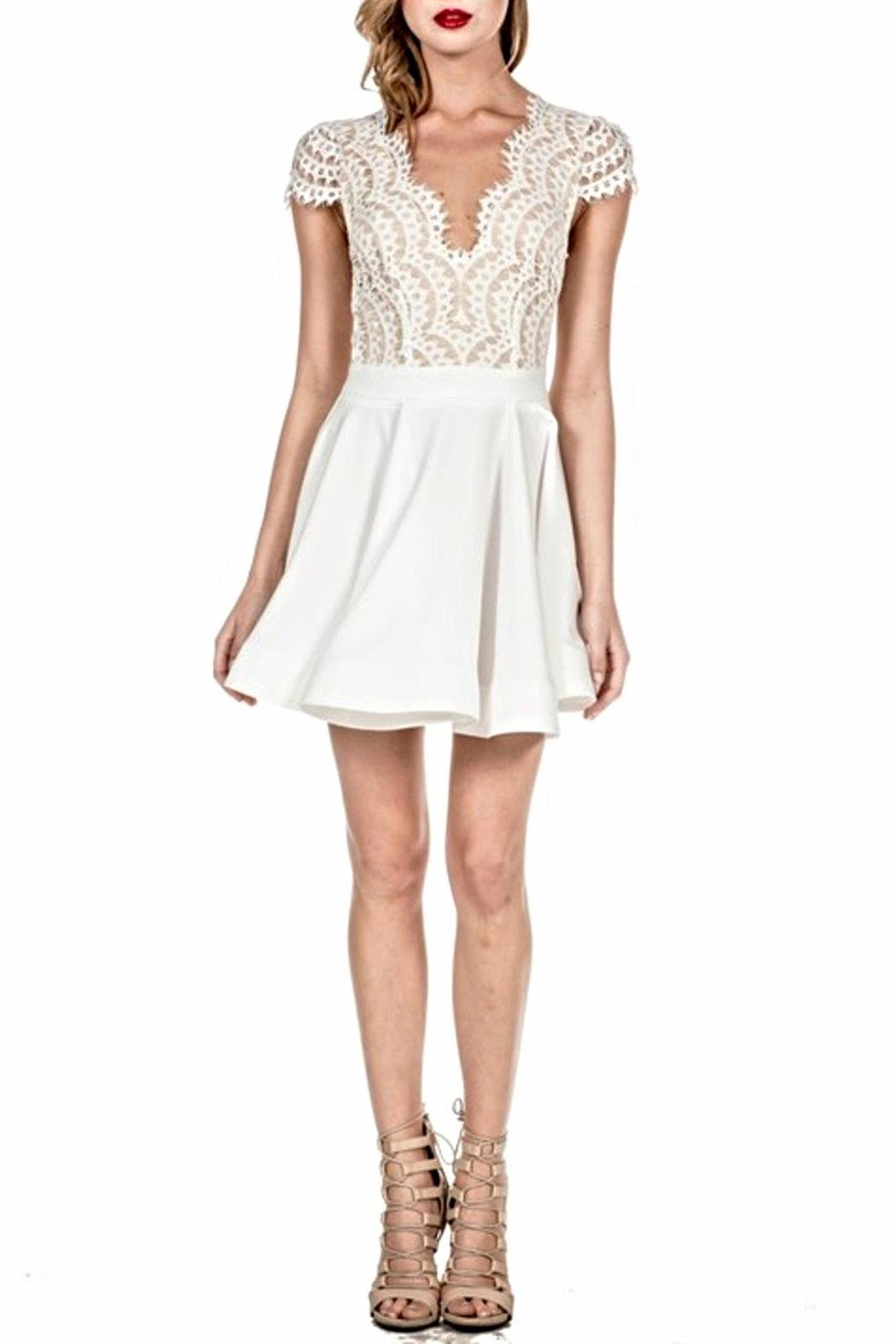 d82eb4e186f0 luxxel Flare Lace Dress from Miami by Secret Vanity — Shoptiques
