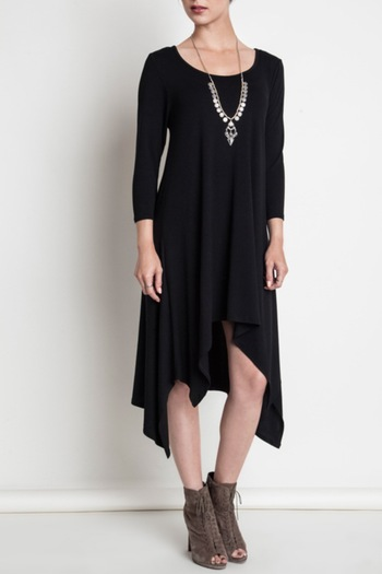 SV Hi Low Knit Dress - Main Image
