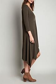SV Hi Low Knit Dress - Front full body