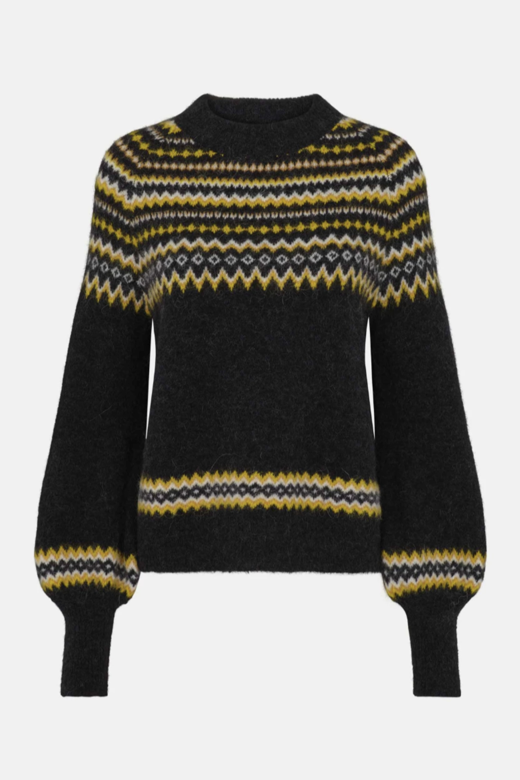 Just Female Svan Knit Sweater - Back Cropped Image