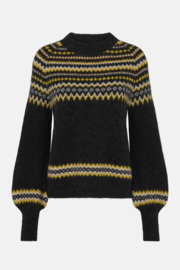 Just Female Svan Knit Sweater - Back cropped