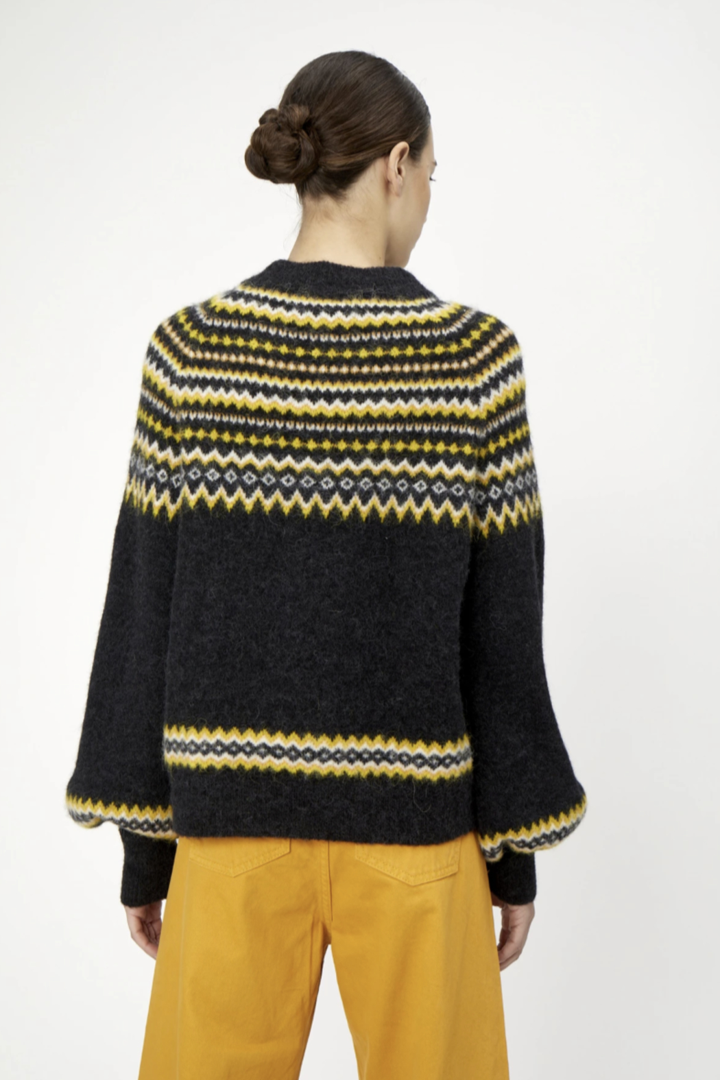 Just Female Svan Knit Sweater - Side Cropped Image