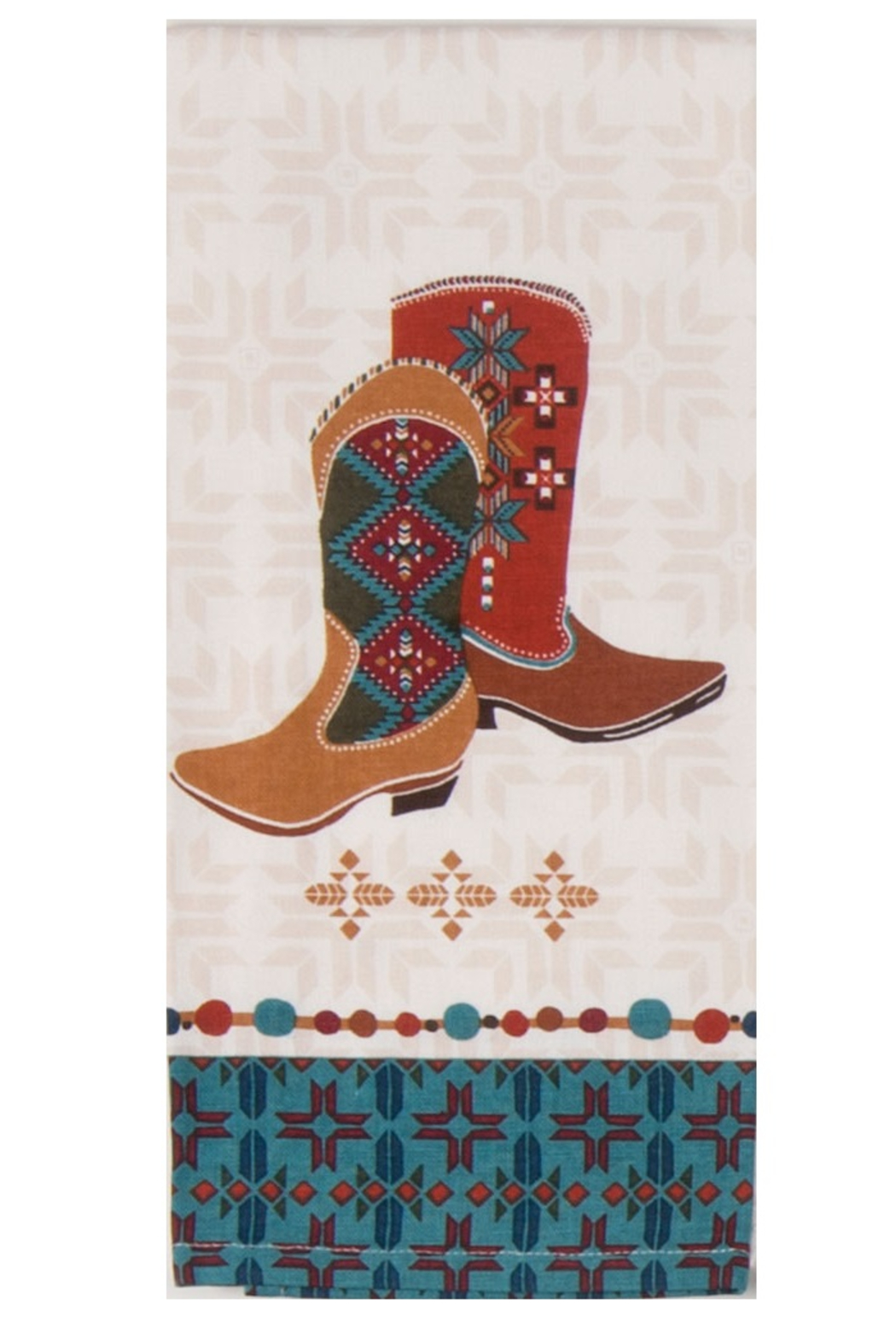 Kay Dee Designs SW at Heart Boot Tea Towel - Front Cropped Image