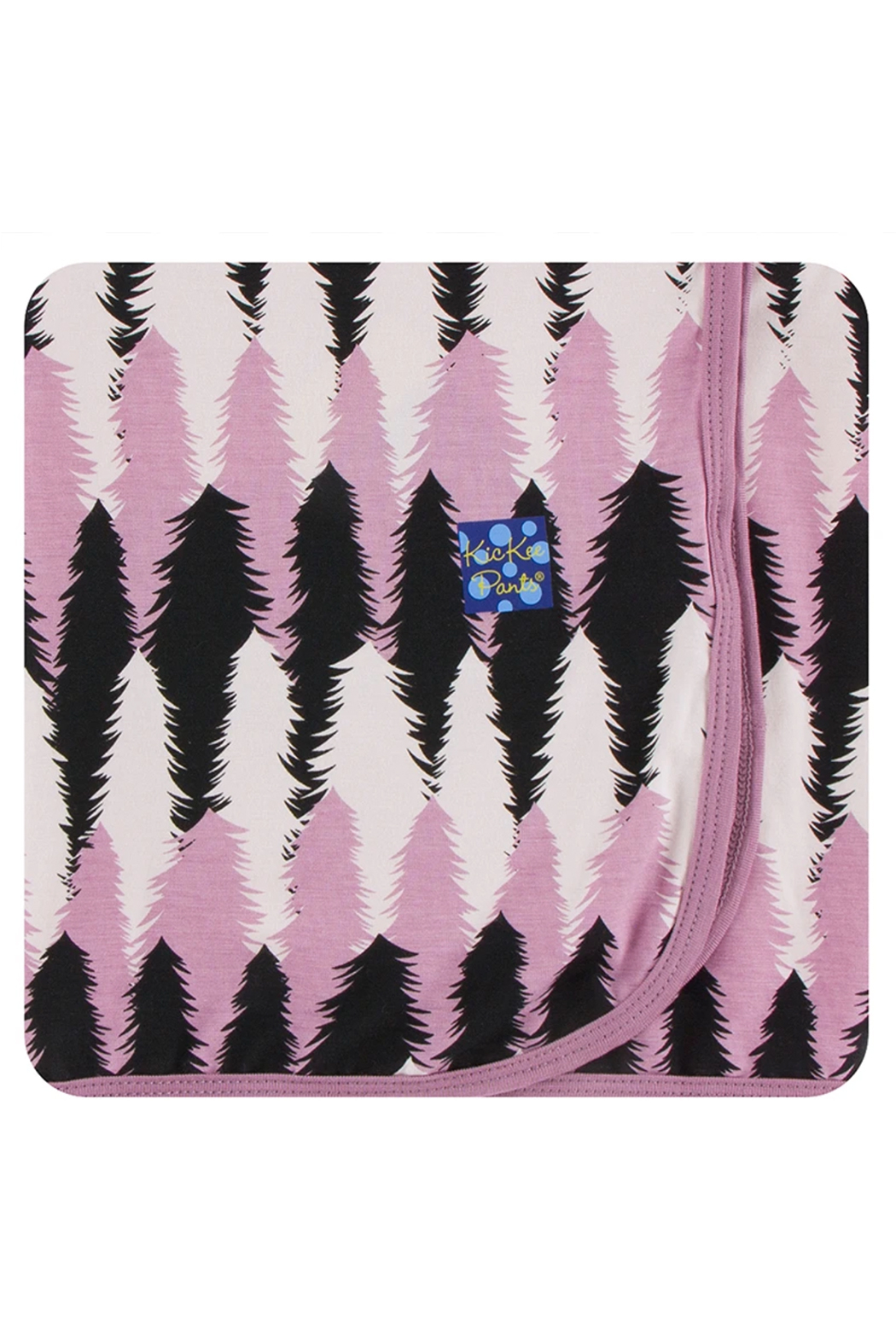 Kickee Pants Swaddle Blanket - Midnight Forestry - Main Image