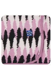 Kickee Pants Swaddle Blanket - Midnight Forestry - Product Mini Image