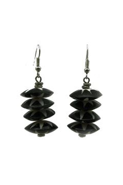 Shoptiques Product: Batik Bone Earrings