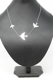 Nadya's Closet Swallows Sterling-Silver Necklace - Product Mini Image