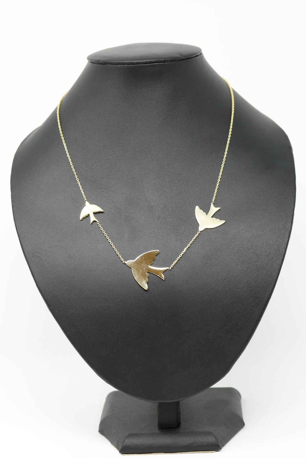 Nadya's Closet Swallows Sterling-Silver Necklace - Front Cropped Image