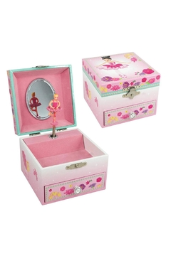 Pink Poppy Swan Lake Musicbox - Alternate List Image