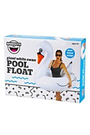 BigMouth Inc Swan Pool Float - Side cropped