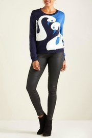 Yumi Swan Pullover Sweater - Product Mini Image
