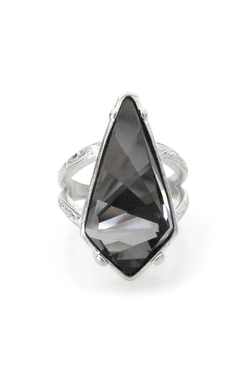 Jessica Elliot Swarovski Adjustable Kite Ring - Main Image