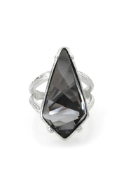 Jessica Elliot Swarovski Adjustable Kite Ring - Front cropped