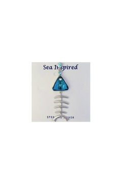 Soap and Water Newport Swarovski Bonefish Necklace - Product List Image