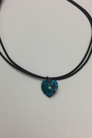Swarovski Crystal Heart Necklace - Front cropped
