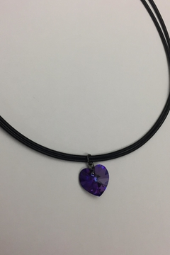 Swarovski Crystal Heart Necklace - Product List Image