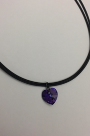 Swarovski Crystal Heart Necklace - Product Mini Image