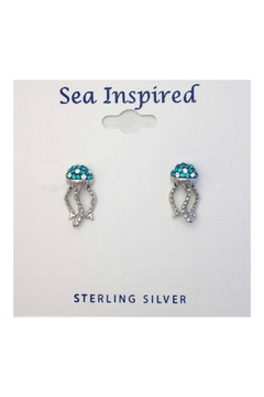 Soap and Water Newport Swarovski Jellyfish Earrings - Product List Image