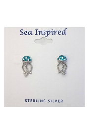 Soap and Water Newport Swarovski Jellyfish Earrings - Product Mini Image
