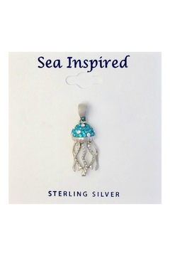 Soap and Water Newport Swarovski Jellyfish Necklace - Product List Image