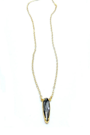 Jessica Elliot Swarovski Large Raindrop Necklace - Product Mini Image