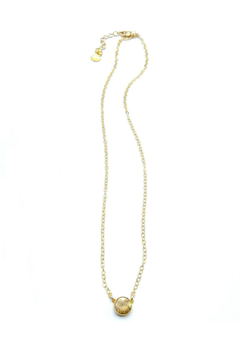 Jessica Elliot Swarovski Large Round Solitaire Necklace - Product List Image